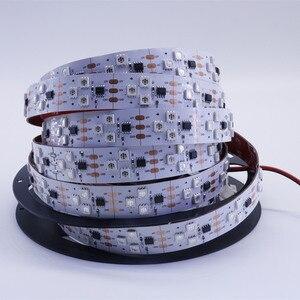 90leds adresowalna taśma led ws2811 SM16703 12V 90leds cyfrowa taśma Led (3 leds w grupie) magiczna pikselowa taśma led produkcja
