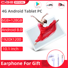 Wifi Tablet Dual-Camera Android 8.0 5G CIGE GPS PC 4G 6GB 6GB-RAM 128g-Rom 10-Core