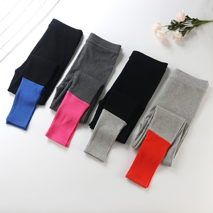 Image 4 - 2019 New Fashion Womens Spring And Summer High Elasticity And Good Quality Slim Fitness Capris Streetwear Leggings Cotton Pants