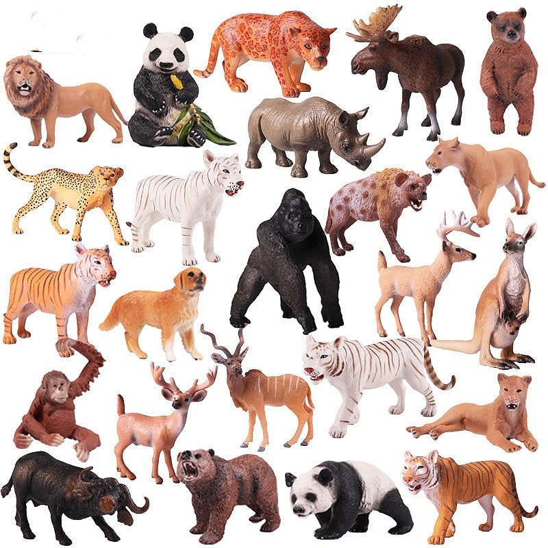 Farm Animal Models Spielzeug Simulation Bactrian Kamel Tiere Action Wild