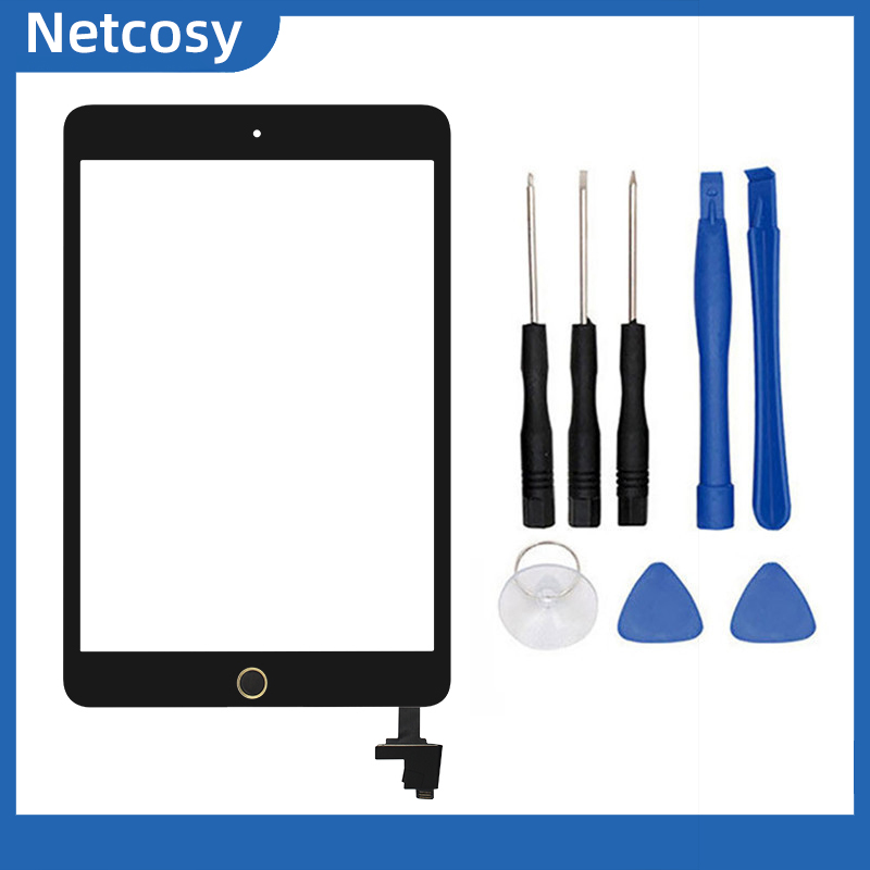 For Ipad Mini 1/2 Touch Screen Glass Digitizer Panel For Ipad Mini A1432 A1454 A1455 A1489 A1490 A1491 Tablet For Ipad Mini 1&2