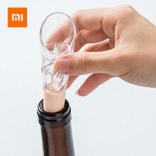 Xiaomi Jordanjudy Acryl Snelle Wijn Decanter Mini Draagbare Wijn Filter Air Intake Fles Schenker Beluchter 2 In 1 Voor Familie bar
