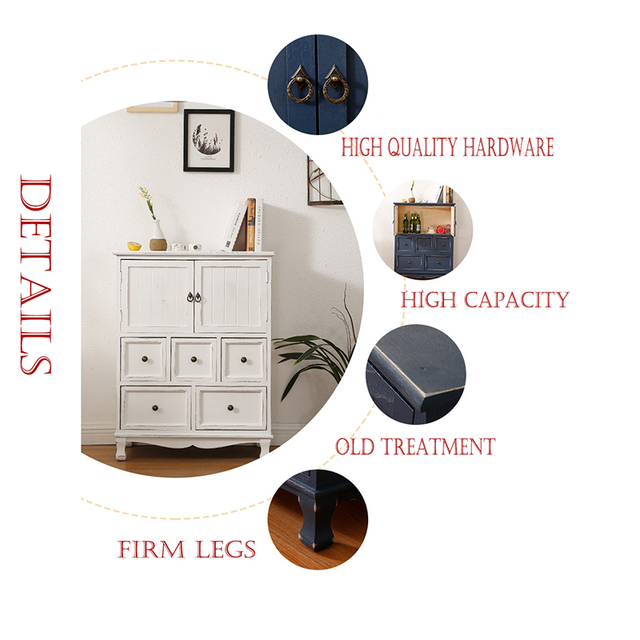 Wooden Multi-Layer Chest of Drawers  6