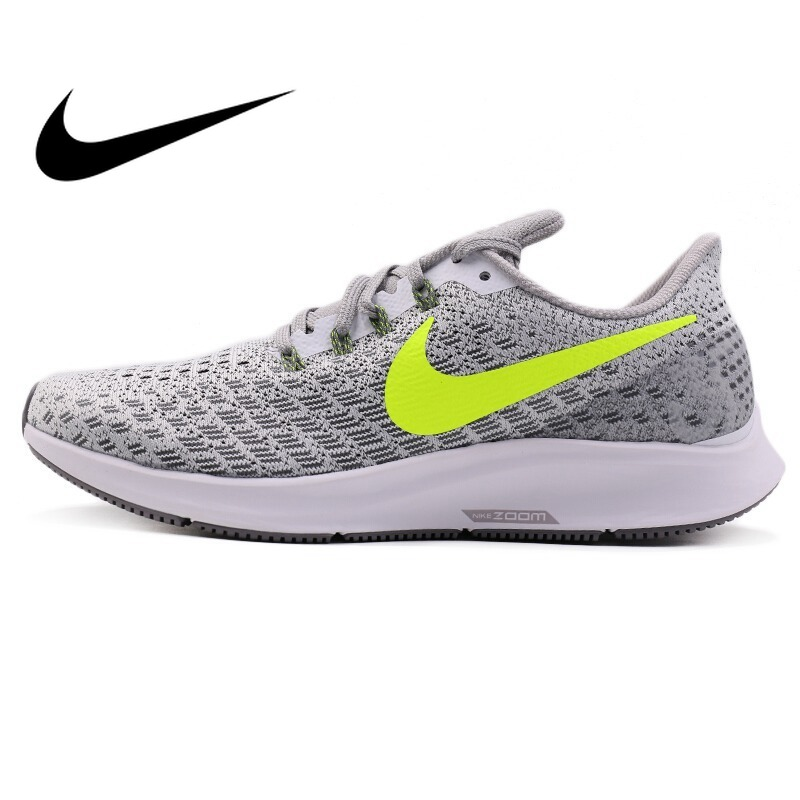 Original NIKE AIR ZOOM PEGASUS 35 Men's Running Shoes Sport Outdoor Sneakers Athletic 2019 New Designer Footwear Jogging 942851