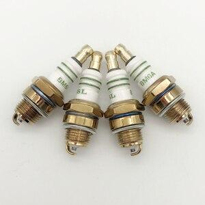 Image 5 - 2PCS Spark Plug L7T BM6A for BM6A BMR6A WS6E WS7E BPMR6A WS7F CJ7Y W20MU L7TC M6 M7 BPMR6A two stroke chain saw field mower