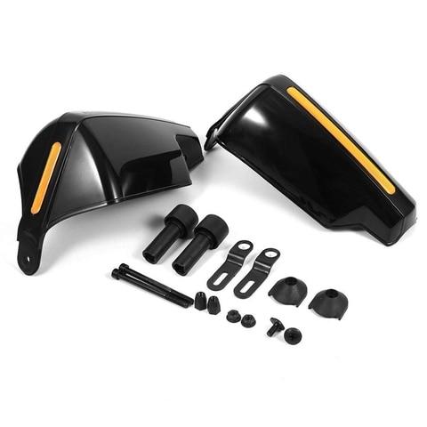 1 par de extended motocicleta modificado acessorios guarda guiador da motocicleta guarda bicicleta escova