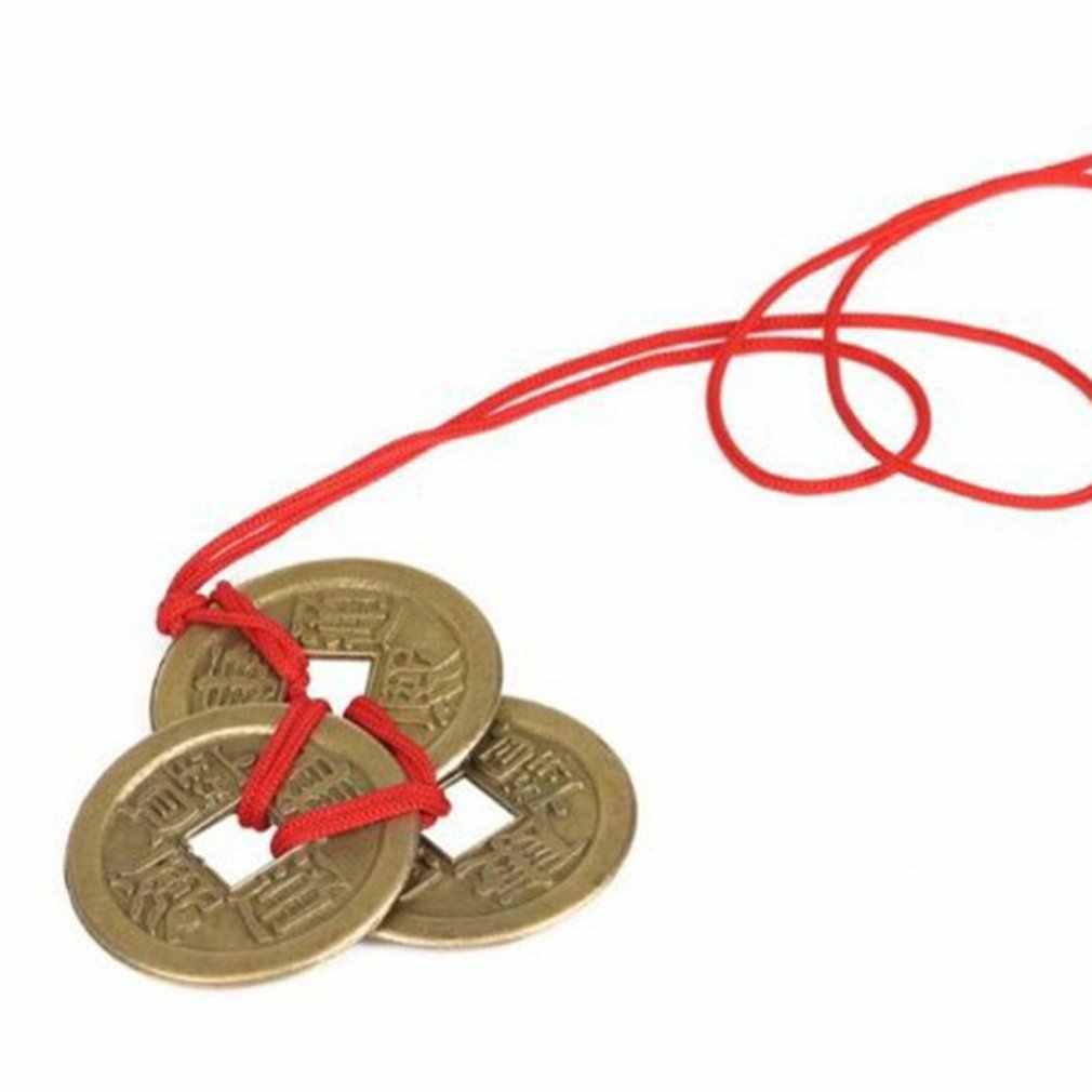 จักรพรรดิเงินขายส่ง Handmade ทองแดงเงิน String ขายส่ง Feng Shui เหรียญโบราณเหรียญขายส่ง