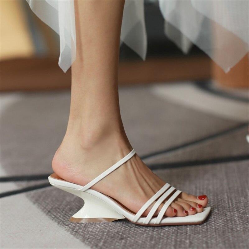 do pé quadrado sapatos de menina cor