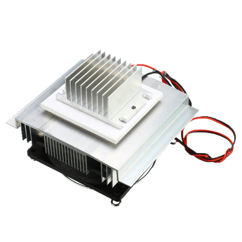 1PC DC 12V Semiconductor Air Conditioner Cooling System DIY Kit Thermoelectric Refrigeration Cooler 40x40x2.6mm