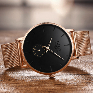Image 5 - 2020 Luik Merk Luxe Vrouwen Casual Horloge Waterdicht Horloge Vrouwen Mode Jurk Alle Rvs Dames Klok Reloj Mujer