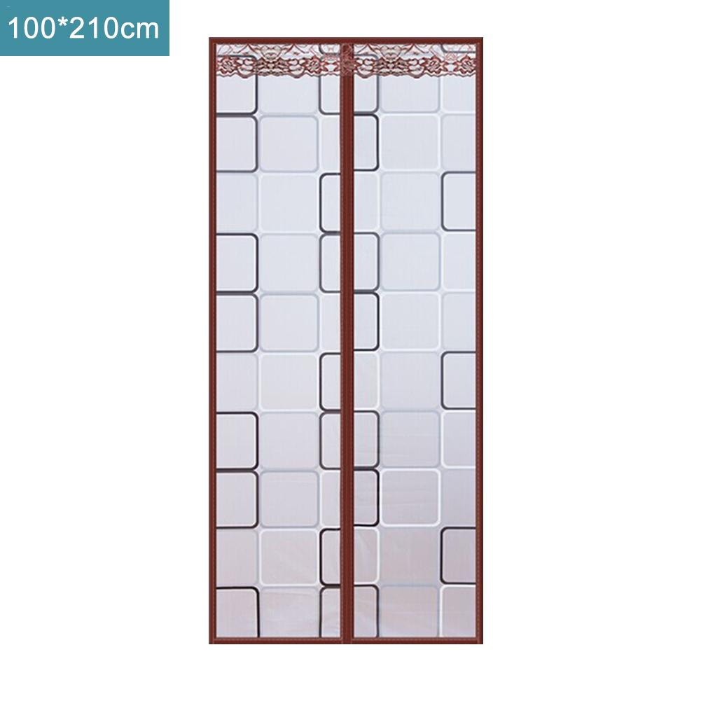 Air Conditioning Curtain Heat Insulation Curtain Door Curtain For Kitchen Fume Prevention Anti-mosquito Magnetic Screen Door
