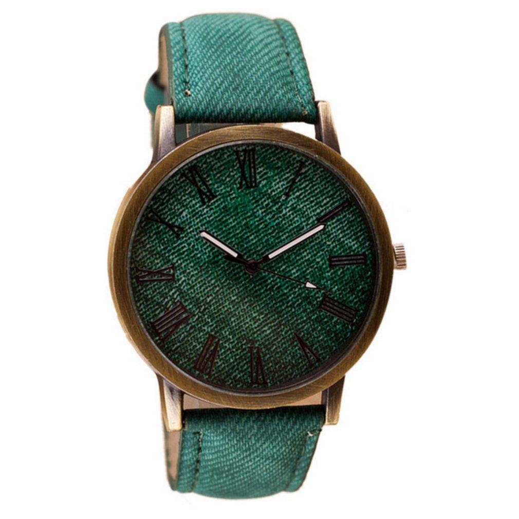 Women Men Watch Wooden Quartz Watch Leather/Steel Strap Quiet Movemen Modern Design Dial Wrist Watch Quartz Watch