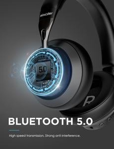 Image 5 - Mixcder E10 Wireless Headphone AptX Low Latency With Micro USB Bluetooth5.0 ANC Deep Bass Music Gaming Over ear Headset