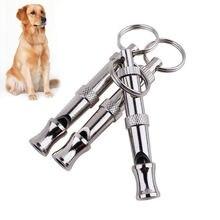 Свисток для собак и щенков ультразвуковой двухцветный Отпугиватель