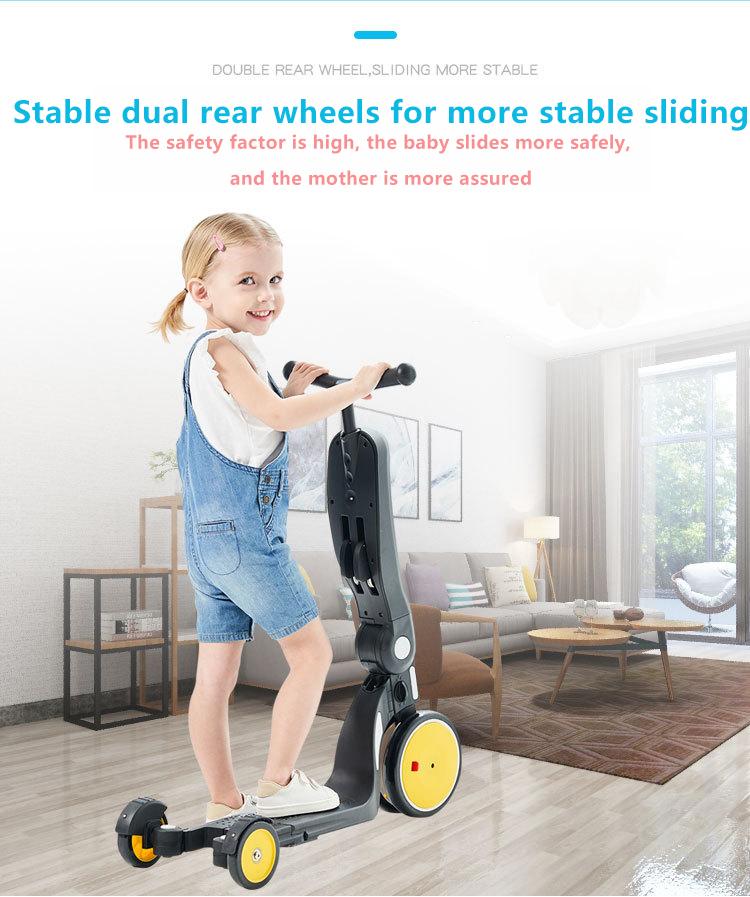 Bebehoo Sliding board kids balance multi-function Yo-Yo Car