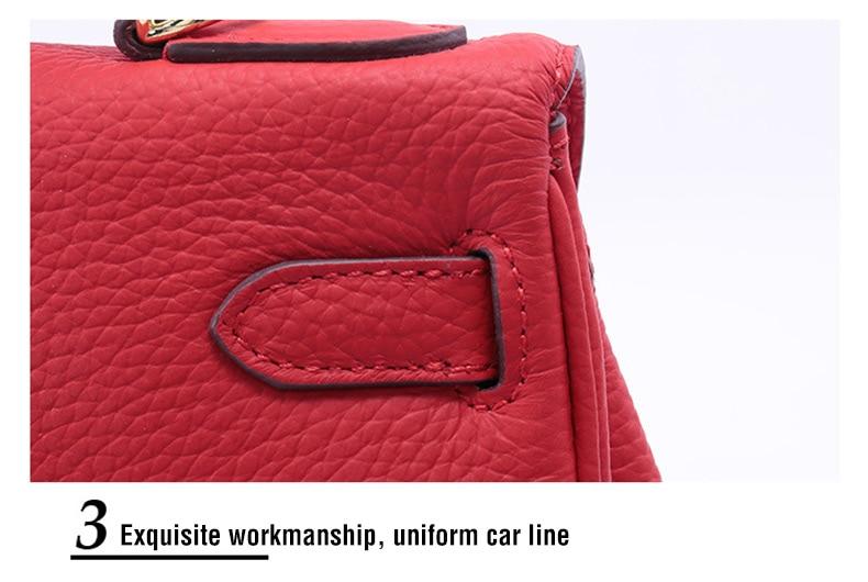 senhoras couro genuíno bolsas moda mensageiro bolsa