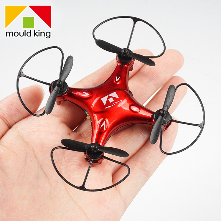 Ultra-Mini Quadcopter Pocket Mini Unmanned Aerial Vehicle Non-Aerial Photography Children Toy Remote Control Airplane Model Airp
