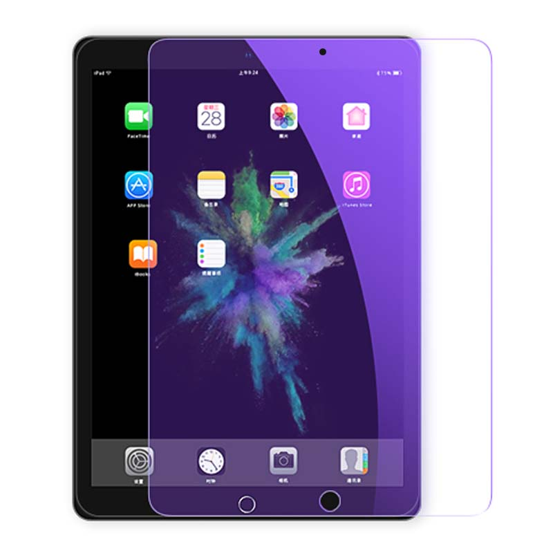 Anti-Blue Light Tempered Glass For IPad 10.2 Mini 1 2 3 4 5 Air 1 2 Pro 9.7 10.5 Screen Protector For IPad 2017 2018 Tablet Film