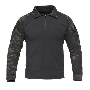 PAVEHAWK Army Military Tactical T-Shirt Men's Black Long Sleeve T Shirt Men Camouflage Multicam Shirt Airsoft Paintball US Size brand military camouflage t shirt men multicam uniform tactical long sleeve t shirt airsoft paintball clothes army combat shirt