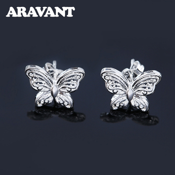 Hot Sale 925 Silver Fashion Jewelry Hollow Small Butterfly Earrings For Women Gift.jpg 350x350 - Hot Sale 925 Silver Fashion Jewelry Hollow Small Butterfly Earrings For Women Gift