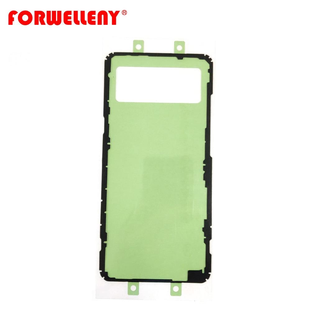 Для S10 5G G977 Задняя стеклянная крышка клейкая наклейка s клей Крышка батарейного отсека