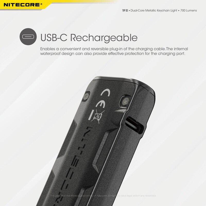 NITECORE TIP SE Keychain Light