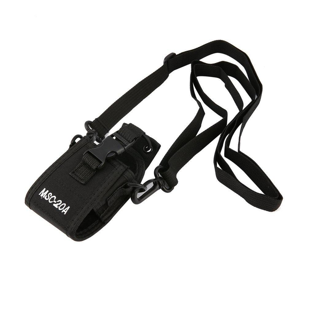 20a Nylon Msc-20a Radio Case Nylon Holder Adjustable Strap Portable Interphone Sheath Walkie-talkie Accessories