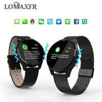 Q9 Astuto Della Vigilanza Chiamata di Promemoria Bluetooth Impermeabile Donne Degli Uomini SmartWatch Inseguitore di Fitness Sport Schermo a Colori Wristband Per Android