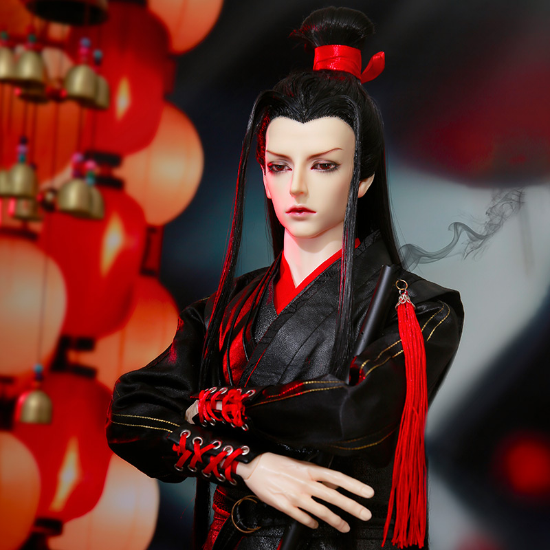 Dollsoom Hyperon Dragon Warrior Chinese Style BJD SD 1/3 70cm Free Eye Balls Fashion Shop Ball Joint Doll Gift