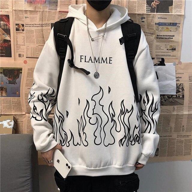 plus size winter clothes sweatshirt women oversized harajuku hoodie korean style streetwear tops print long sleeve Pullovers 4