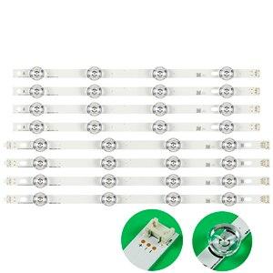 Image 1 - LED תאורה אחורית מנורת רצועת 8 נוריות עבור LG 42LY320C LC420DUE INNOTEK DRT 3.0 42 אינץ טלוויזיה 42LY540H 42LF652V 42LF653V 42LB5510