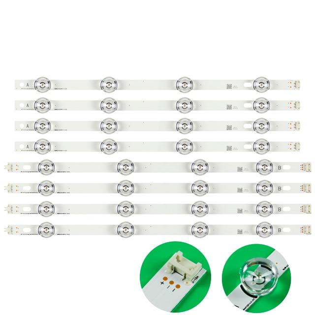 Retroilluminazione A LED di striscia Della Lampada 8 LED Per LG 42LY320C LC420DUE INNOTEK YPNL DRT 3.0 42 pollici TV 42LY540H 42LF652V 42LF653V 42LB5510