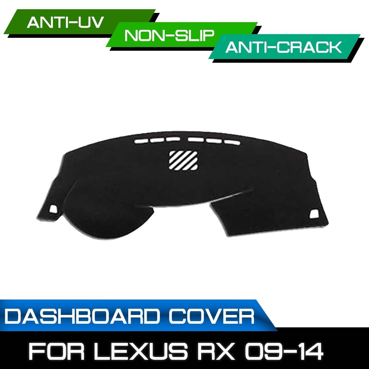 Car Dashboard Mat for Lexus RX 2009 2010 2011 2012 2013 2014 Anti dirty  Non slip Dash Cover Mat UV
