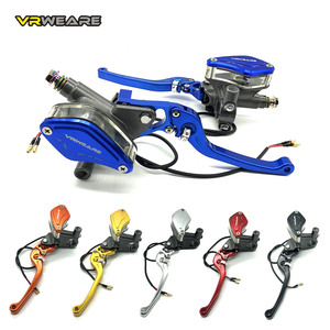 Motorcycle Brake Pump lever Adjustable Handle Hydraulic clutch Master Cylinder Racing Universal For HONDA Yamaha Kawasaki Brake(China)