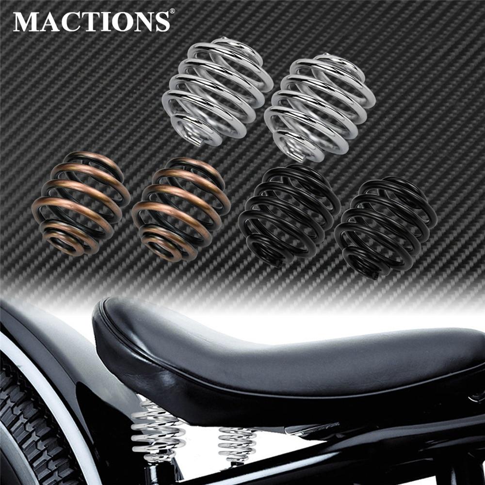 Motorcycle Solo Seat Spring Hardware Mount Kit Bronze /Black/Chrome For Harley Bobber Chopper Custom Old School Sportster XL