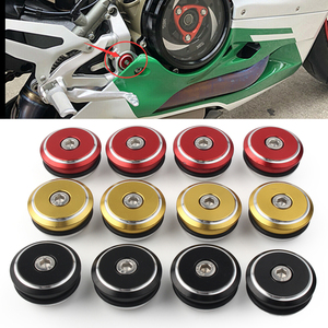 Motorcycle Frame Plugs Adorn Cover For Ducati Panigale 1199 1199S 2012-2014/ 1299 1299S 2015-2017/ 899 2014-2015/ 959 2016-2018