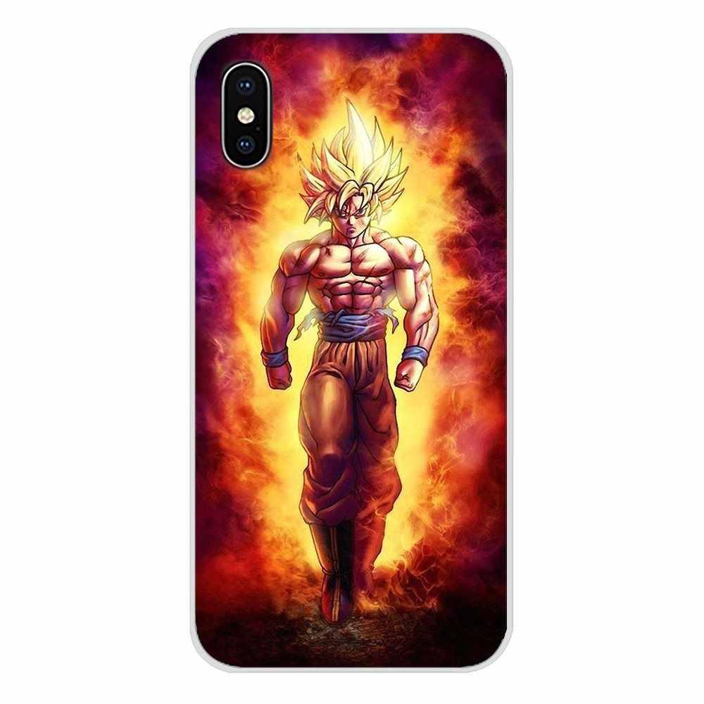 Dragonball Z Siêu Goku Dragon Ball Z Di Động Điện Thoại Dành Cho Samsung A10 A30 A40 A50 A60 A70 Galaxy S2 note 2 3 Grand Core Prime