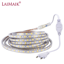 LED Strip Light with Remote 5050 RGB Dimmable 5730 LED Tape Waterproof IP65 220V SMD 5050 LED Ribbon Flexible Strip 5m 10m 30m
