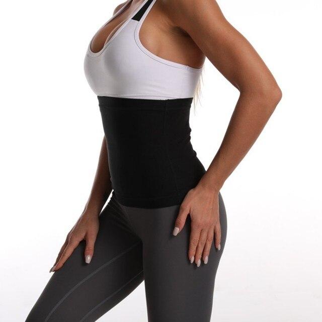 Waist Trimmer Belts Weight Loss Sweat Band Wrap Fat Tummy Stomach Sauna Sweat Belts Sport Safe Accessories 5