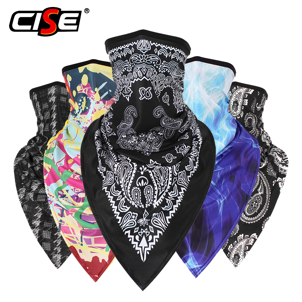 3D Magic Balaclava Face Shield Motorcycle Moto Neck Gaiter Tube Scarf Bandana Biker Head Mask Silk Sun Masks Men Girls Headband