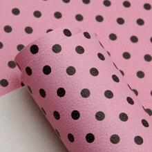 Sheets Fabric Handbag Fake Leather Printed Handmade-Material for Patchwork Bow DIY 1yc7775