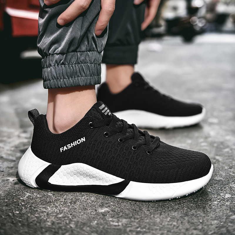 2020 męskie buty do biegania męskie tenisówki sportowe Outdoor Walkng buty do biegania trener sportowe buty męskie męskie trampki