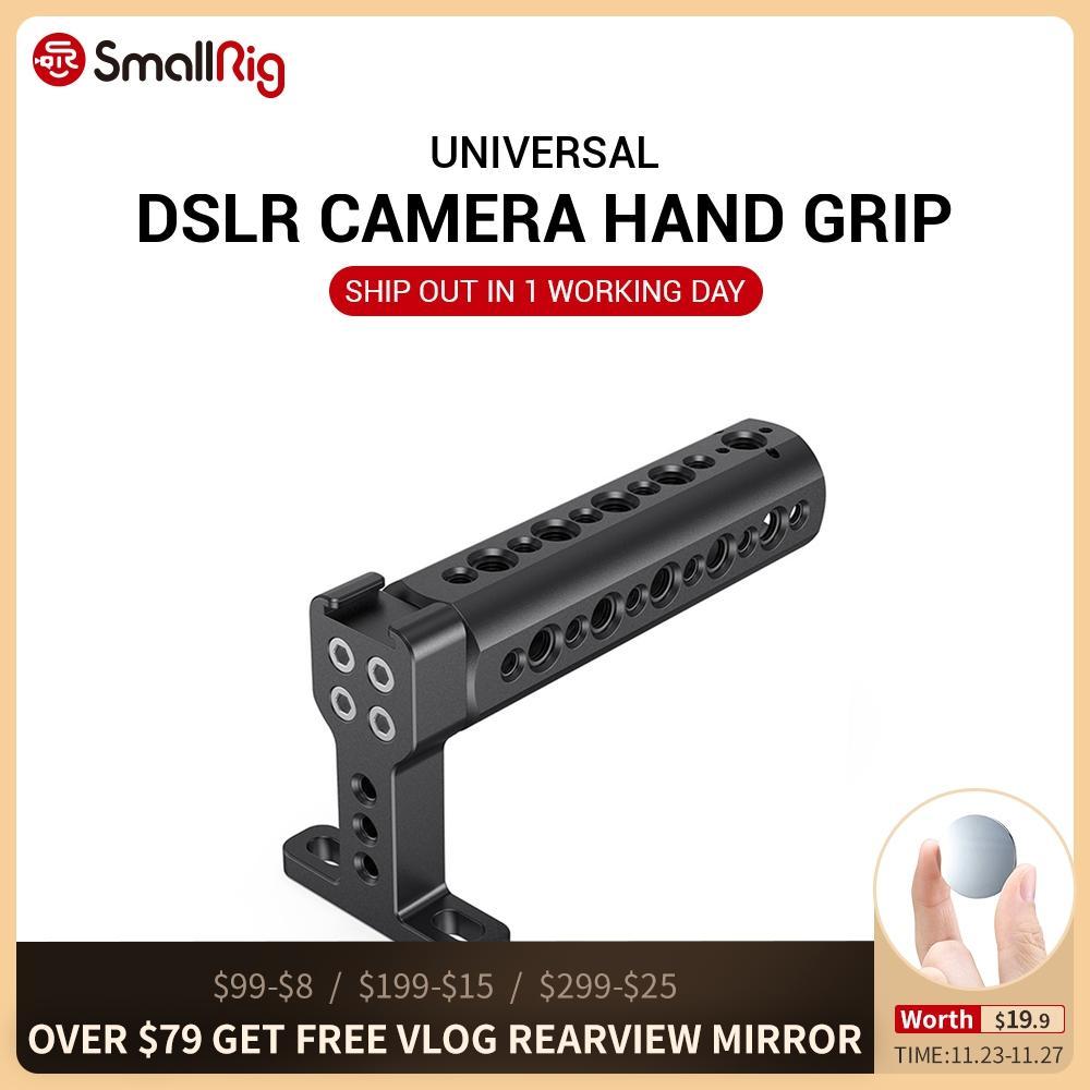 A alça superior SmallRig com sapata fria DSLR pode usar com a alça - Câmera e foto