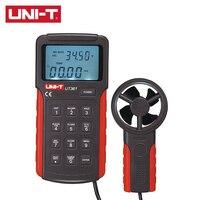UNI T UT361/UT362 Professional Digital Anemometer Measure Wind Temperature Wind Speed and Volume ℃/℉ Selectable
