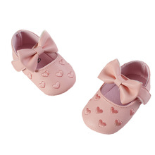 Baby shoes baby shoes spring summer autumn winter models 0-1 years old baby shoes toddler shoes cheap First Walkers Low Top 13 Cm Floral Embroidered Z002 Breathable Velcro Princess 24 48 Months 3 4 Year Old Solid Color Common Thick