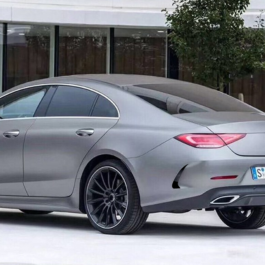 Rear Bumper Fender Stickers Trim Cover for Mercedes Benz CLS Class C257 CLS300 350 450 2018+ Accessories Car Styling title=