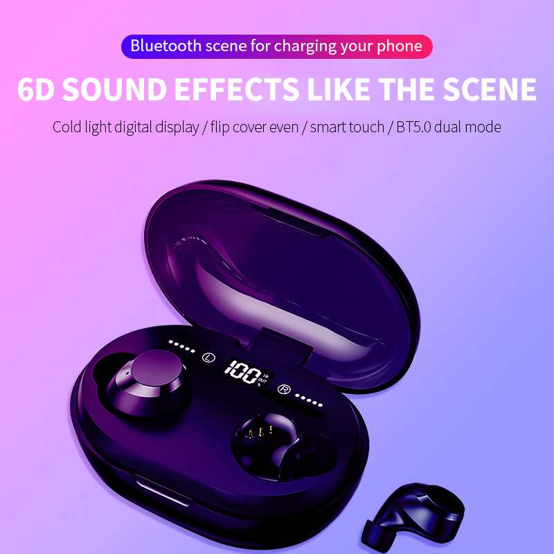 Image 3 - C8S TWS Wireless Earphone Bluetooth V5.0 3000 MAh Charging  Box 