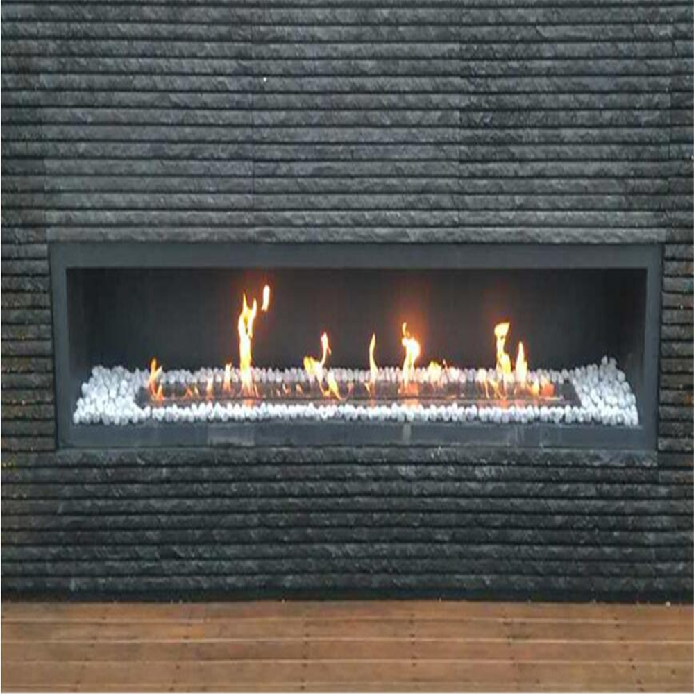 48 Inch  Intelligent Electric Bio Ethanol Chimenea Smart Home Furniture Fireplace