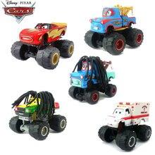 Disney pixar carros 3 2 grande pé dublê metal diecast carro brinquedo relâmpago mcqueen cabelo longo mater rhapsody gigante rodas carro brinquedos presente