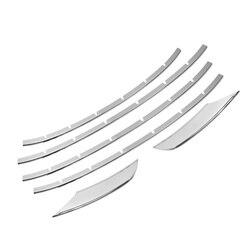 6 sztuk ze stali nierdzewnej samochodów osłona na maskownicę lampy przeciwmgielne listwy wykończenia dla porsche macan 2019 stylizacja akcesoria